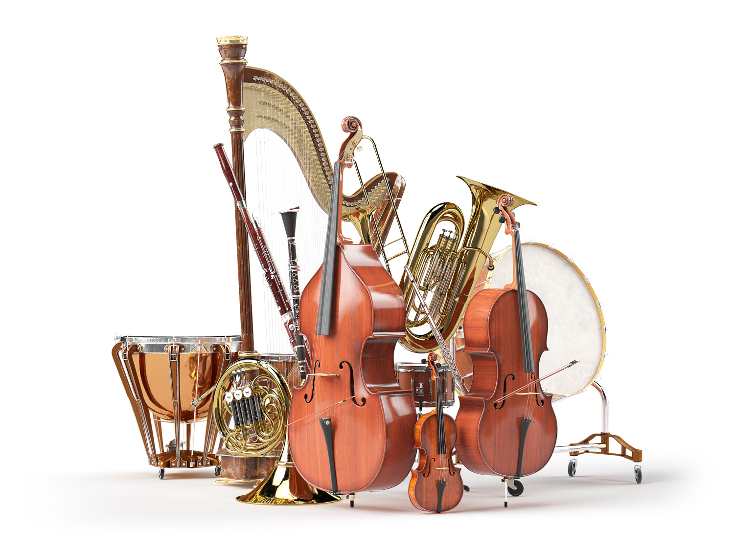 The Instruments of the Orchestra I: Families - Frederick Symphony
